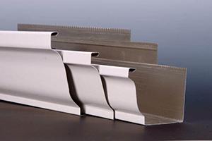 seamless metal gutters